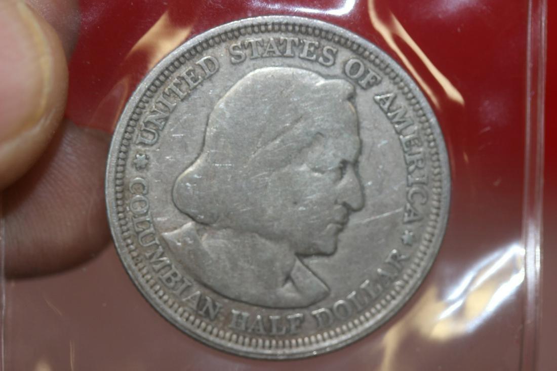 An 1892 Columbian Exposition Coin