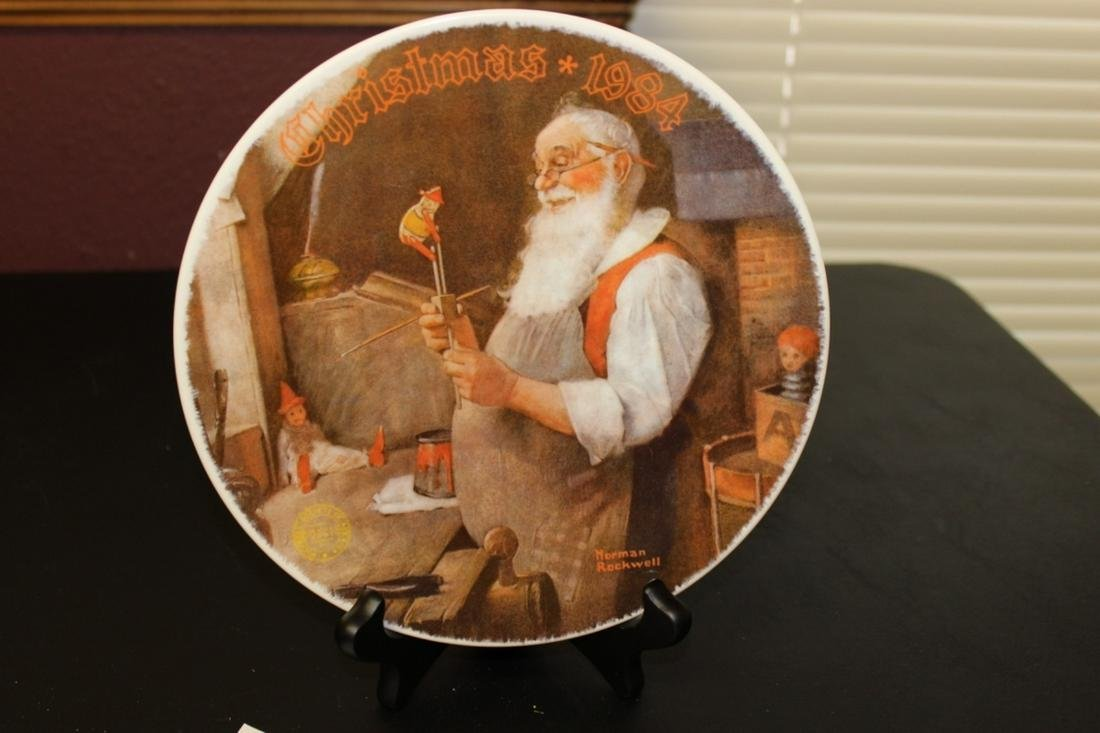 A Norman Rockwell Collector's Plate