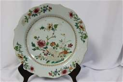 A 19th Century Chinese Export Plate