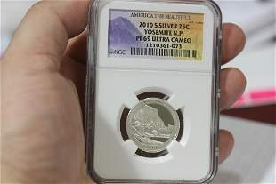 An NGC Graded Silver 25cent