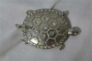 A Metal Turtle Belt Buckle?