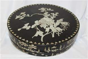 Antique/Vintage Chinese Mother of Pearl Sweet Platter