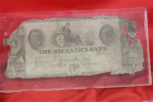 An 1800's Obsolete Note