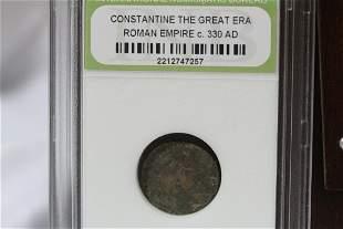 A Slabbed Roman Empire Coin