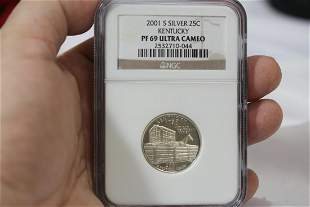 An NGC Graded 2007-S Silver Quarter