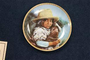 "R.J. Ernst  Enterprises Inc. Collector's Plate - ""Girl"