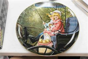 "Reco Collector's Plate "" The Surrey Ride"""