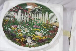 Collector's Plate by Higgins Bond