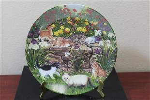A Collector's Plate by Higgins Bond
