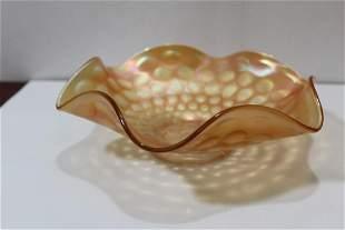 A Carnival Glass Bowl