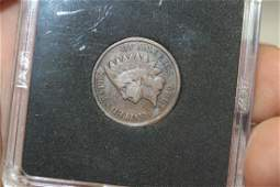 A 1909 Indian Head Cent