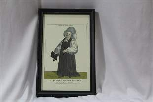 "A Framed Print ""Pillar of the Church"""
