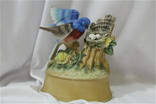 A Blue Jay Music Box