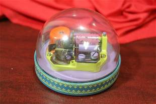 A Reuge Clear Dome Music Box