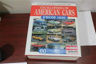 Hardcover Book: Encyclopedia of American Cars