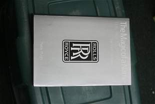 Hardcover Book: The Magic of a Name Rolls-Royce