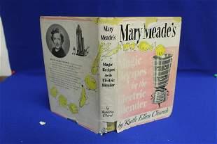 Hardcover Book: Mary Meade's Magic Recipes