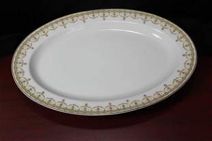 A Theodore Haviland Limoges Platter