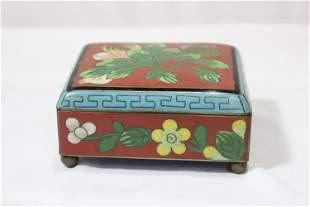 A Chines Cloisonne Box