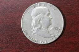 A 1952 Franklin Silver Half