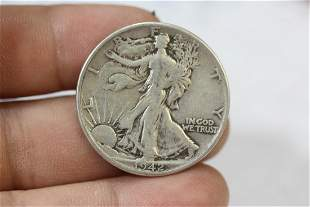 A 1942 90% Silver Walking Liberty Half Dollar