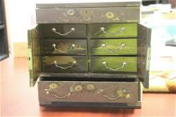 A Japanese Lacquer Jewelry Box