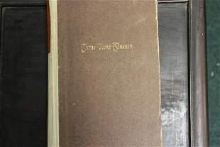 A Hardcover German Book