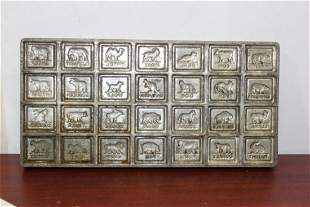 A Vintage Chocolate Mold
