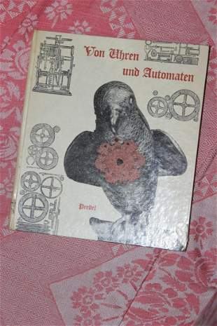 Hardcover German Book on Clocks and Machines