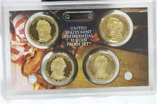 United States Presidential $1.00 Coin Proof Set