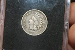 An 1859 Copper Nickel Indian Head Cent