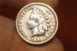 A Civil War Era 1863 Copper Nickel Penny