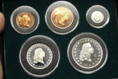 A Gallery Mint 1794 Museum Replicas Proof Set