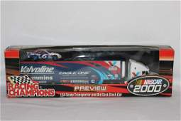 A DieCast Transposter and Stock Car - 2000