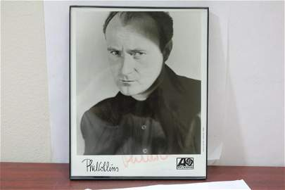 A Signed Phil Collins Print/Poster/Photograph