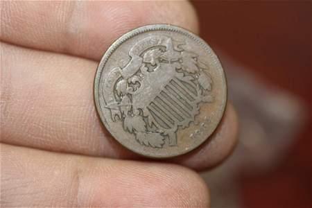 A Civil War Era 2 Cent Piece
