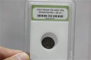 A Slabbed Roman Coin