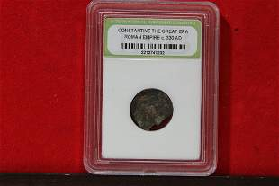A Slabbed Consantine The Great Era Coin