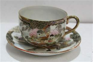 An Antique/Vintage Japanese Nippon Cup and Saucer