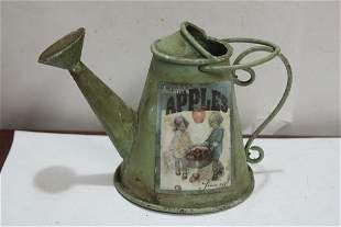 A Small Metal Watering Can
