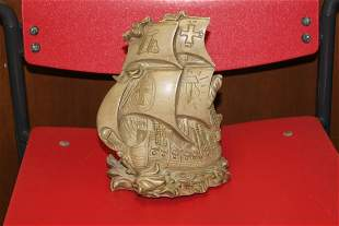 A Solid Resin Clipper Ship