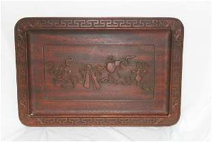 Well Carved Wooden Panel