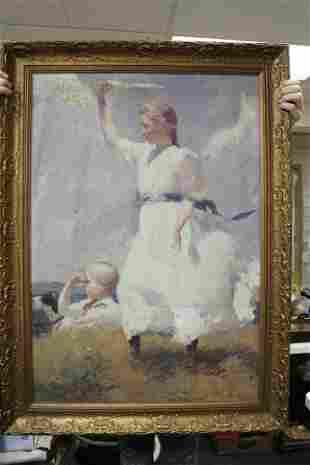 A Print on Canvas