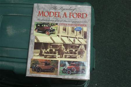 Hardcover Book: The Legendary Model A Ford