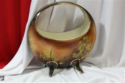 A Vintage Japanese Ceramic Carrier