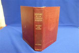 Hardcover Book: History of the United States
