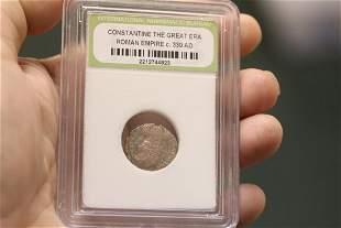 Constantine The Great Era Roman Empire Coin