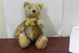 A Small Vintage Steiff Teddy Bear