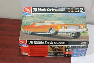 An AMT '70 Monte Carlo Lowrider Model Car Kit