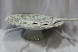A Ceramic Cake Plate